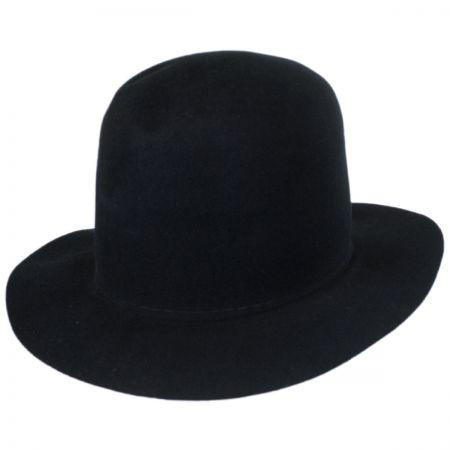 Bailey Briles Wool Felt Open Crown Fedora Hat