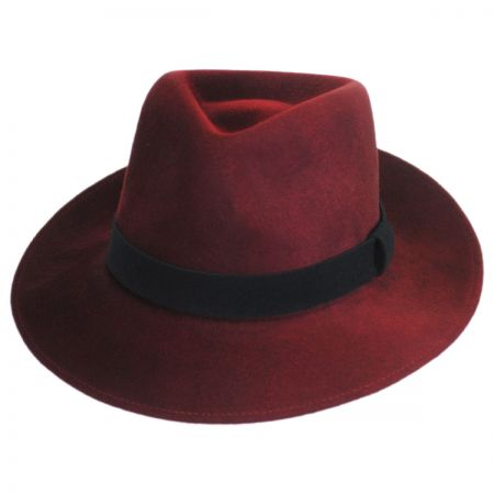 Bailey Lanth Polished Wool Felt Fedora Hat