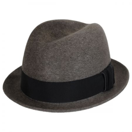 Bailey Horton Polished Wool Felt Trilby Fedora Hat
