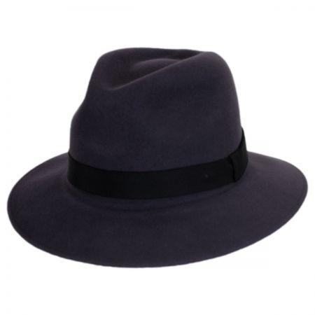 Hereford Elite Wool Felt Fedora Hat alternate view 2