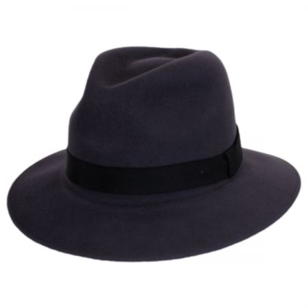 Hereford Elite Wool Felt Fedora Hat alternate view 4