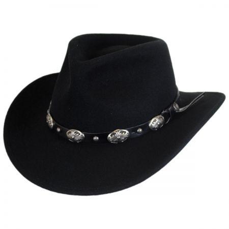 B2B Jaxon Tombstone Wool Felt Cowboy Hat
