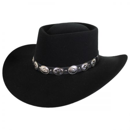 Ellsworth Wool Felt Western Hat
