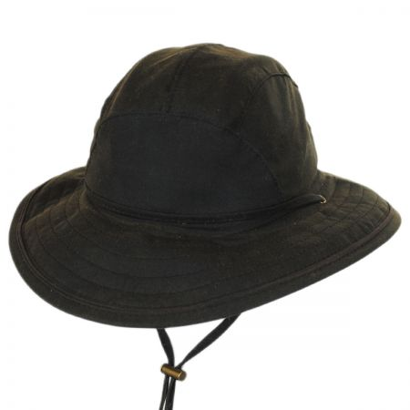 Woolrich Waxed Cotton Boonie Hat