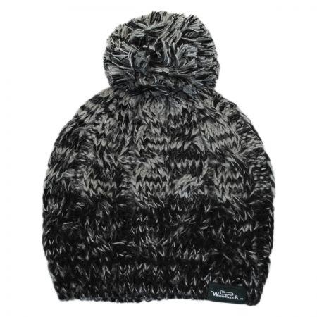 Knit Pom Beanie Hat alternate view 1