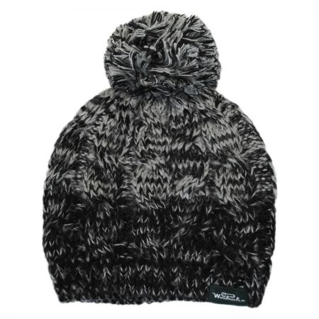 Woolrich Knit Pom Beanie Hat