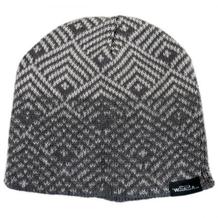 Geo Knit Beanie Hat alternate view 3