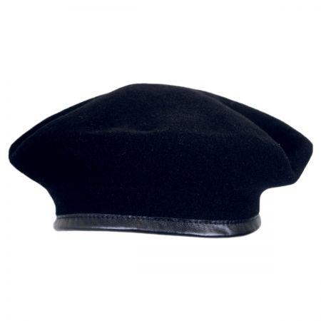 Kangol Monty Wool Military Beret