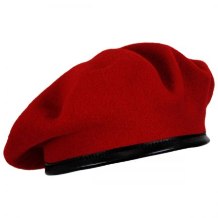 15ececaef0d36 Red Beret at Village Hat Shop