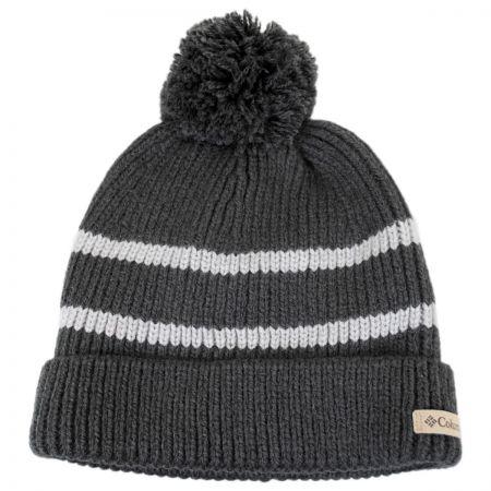 Auroras Lights Pom Knit Beanie Hat