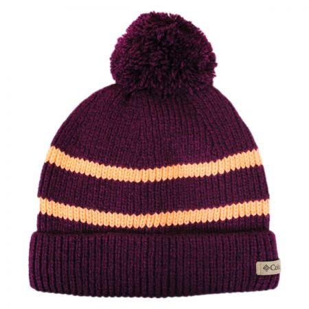 Auroras Lights Pom Knit Beanie Hat alternate view 3