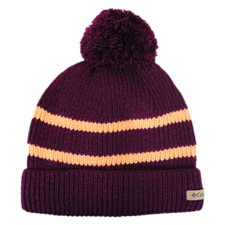 d69ae9e4a Auroras Lights Pom Knit Beanie Hat