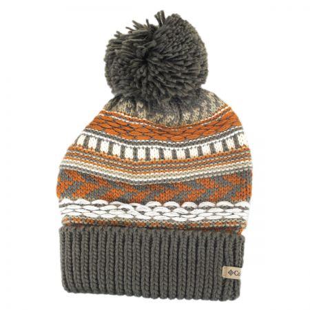 d8fd2136d20 Columbia Sportswear Stay Frosty Pom Knit Beanie Hat