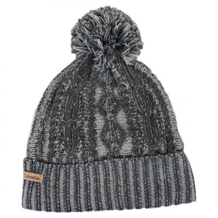 Columbia Sportswear Blizzard Pass Pom Knit Beanie Hat