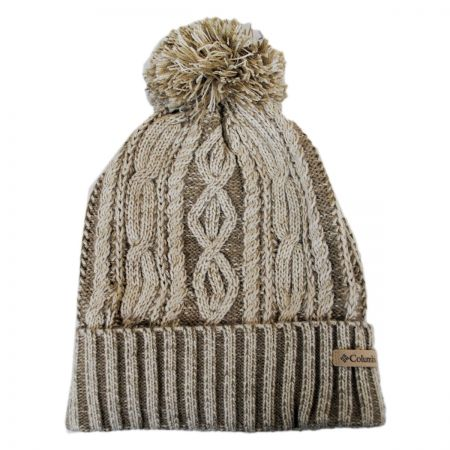 Blizzard Pass Pom Knit Beanie Hat alternate view 1