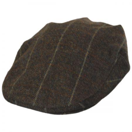 Hills Hats of New Zealand Overcheck Lambswool Ivy Cap
