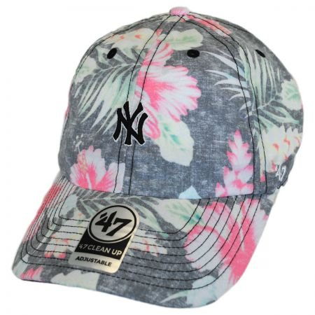 47 Brand New York Yankees MLB Stigma Clean Up Strapback Baseball Cap