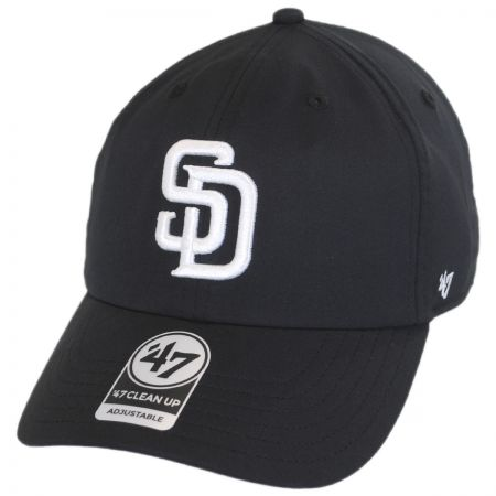 47 Brand San Diego Padres MLB Trackster Clean Up Adjustable Baseball Cap