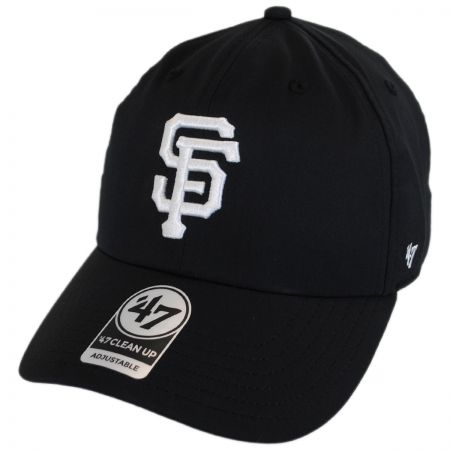 80102c3ef9540 47 Brand San Francisco Giants MLB Trackster Clean Up Adjustable Baseball Cap