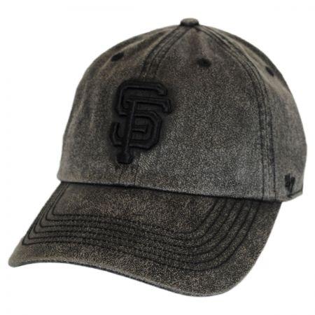 47 Brand San Francisco Giants MLB Caliper Clean Up Strapback Baseball Cap Dad Hat