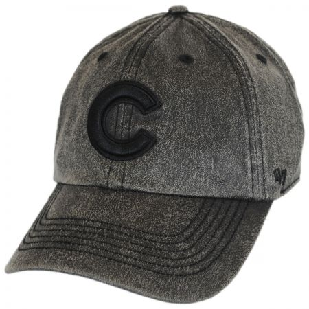 47 Brand Chicago Cubs MLB Caliper Clean Up Strapback Baseball Cap Dad Hat
