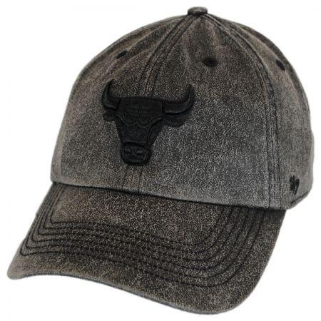 47 Brand Chicago Bulls NBA Caliper Clean Up Strapback Baseball Cap Dad Hat