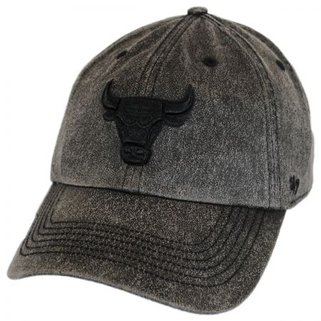47 Brand Chicago Bulls NBA Caliper Clean Up Strapback Baseball Cap
