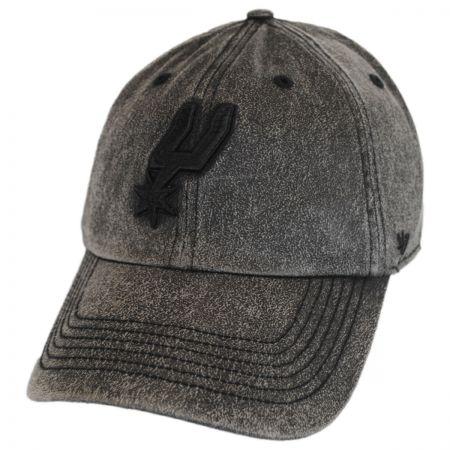 San Antonio Spurs NBA Caliper Clean Up Strapback Baseball Cap Dad Hat