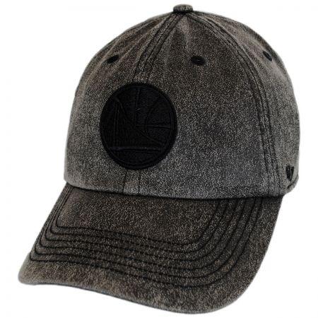47 Brand Golden State Warriors NBA Caliper Clean Up Strapback Baseball Cap Dad Hat