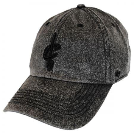 47 Brand Cleveland Cavaliers NBA Caliper Clean Up Strapback Baseball Cap Dad Hat