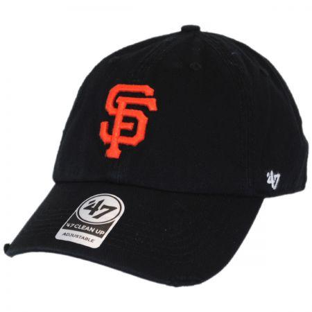 47 Brand San Francisco Giants MLB Ridge Clean Up Strapback Baseball Cap Dad Hat