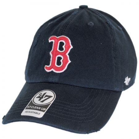 47 Brand Boston Red Sox MLB Ridge Clean Up Strapback Baseball Cap