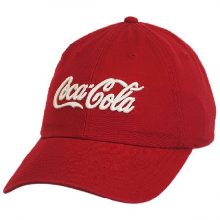 American Needle Coca-Cola Washed LoPro Strapback Baseball Cap