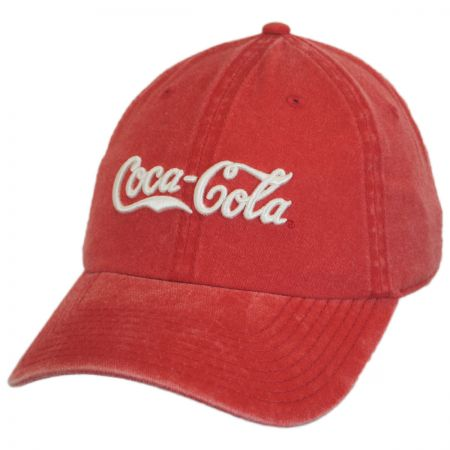 American Needle Coca-Cola Raglan LoPro Strapback Baseball Cap