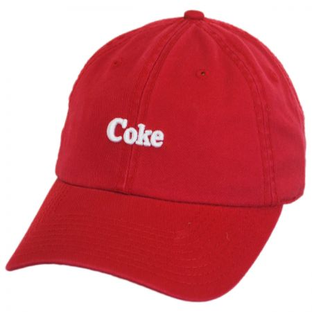 American Needle Coke Micro Logo Strapback Baseball Cap