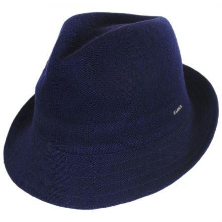 Kangol Arnie Bamboo Curshable Trilby Fedora Hat