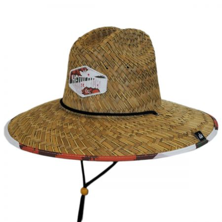 Hemlock Hat Co Grizzly Straw Lifeguard Hat
