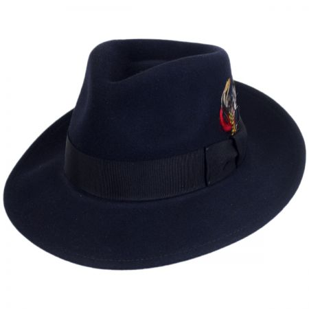 Bailey Packable Wool LiteFelt Fedora Hat - VHS Exclusive Color