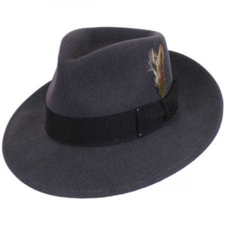 Bailey Packable Wool LiteFelt Fedora Hat