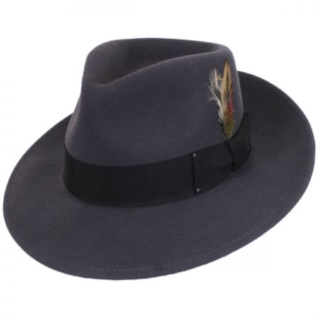 Packable Wool LiteFelt Fedora Hat - VHS Exclusive Color alternate view 17