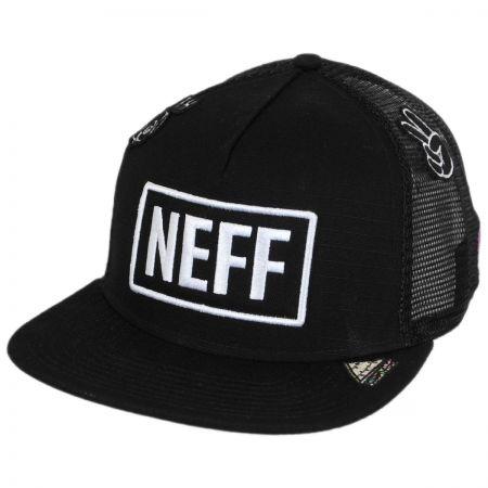 Neff Atoms Trucker Snapback Baseball Cap