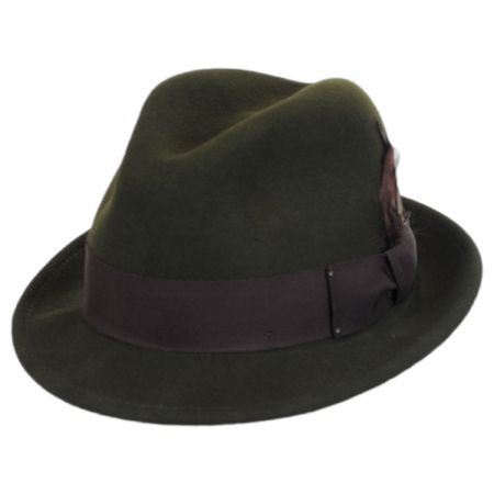 Tino Wool Felt Trilby Fedora Hat - VHS Exclusive Colors alternate view 17