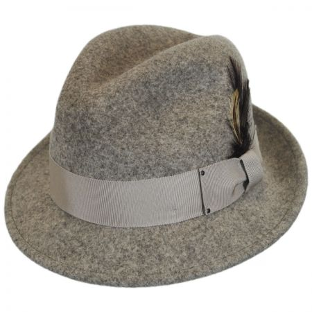 Tino Wool Felt Trilby Fedora Hat - VHS Exclusive Colors alternate view 24