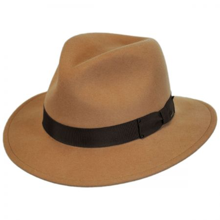 Curtis Wool Felt Fedora Hat - VHS Exclusive Colors alternate view 6