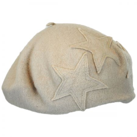 Star Wool Beret alternate view 1