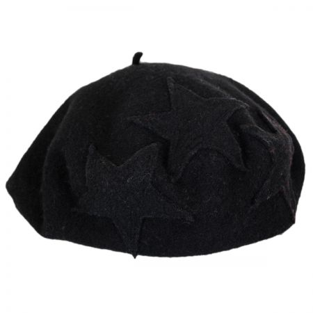 Star Wool Beret alternate view 4