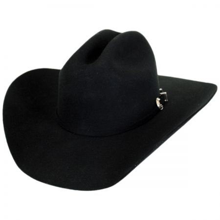 Rodeo 3X Wool Felt Cattleman  Western Hat alternate view 5