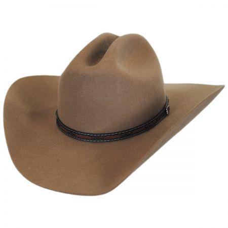Justin Hats Gallop 2X Wool Felt Cattleman Western Hat
