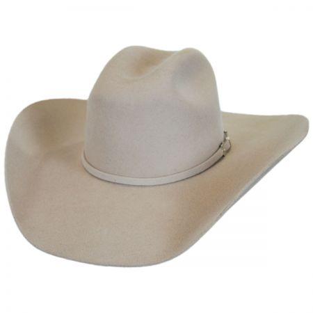 Justin Hats Dixon 3X Wool Felt Cattleman Western Hat