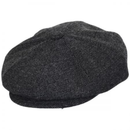 Galvin Wool Twill Newsboy Cap